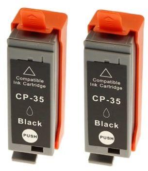 Tusze Zamienniki PGI-35 do Canon (1509B012) (Czarne) (dwupak) - DARMOWA DOSTAWA w 24h