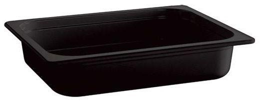 Pojemnik GN 1/1 gł. 10 cm z melaminy czarny
