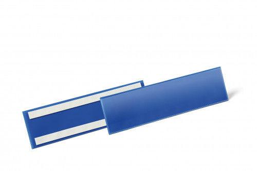 Kieszeń magazynowa samoprzylepna 1/3 A4 pozioma DURABLE niebieska 50szt. 1796 07