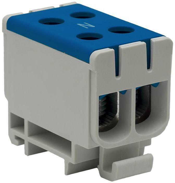 Złączka szynowa przelotowa 2-torowa 2,5-50mm2 niebieska WLZ35/2x50/n 48.250