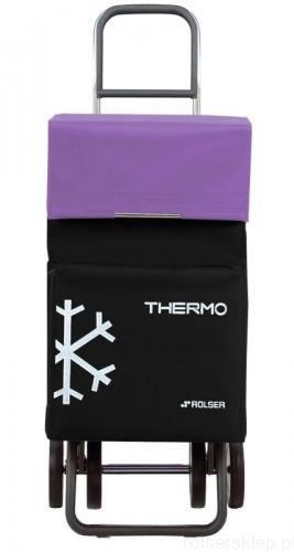 Wózek na zakupy Rolser DOS+2 Termo Fresh Do pchania Negro/Malva