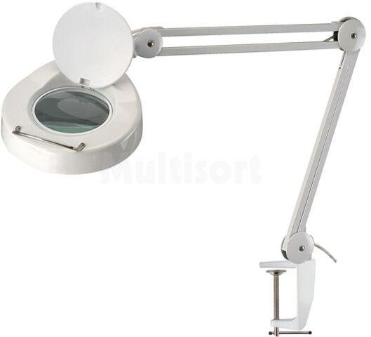 Lupa podświetlana stołowa 5 dioptrii fi127mm metal