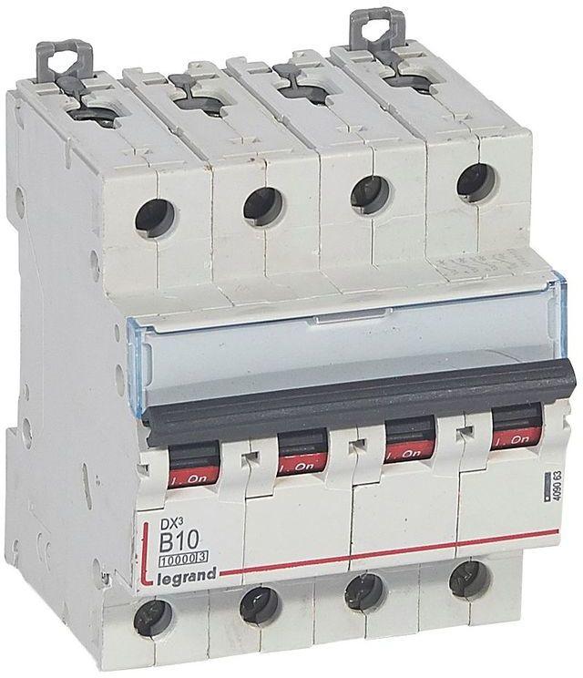 Wyłącznik nadprądowy 4P B 10A 10kA S314 DX3 409063