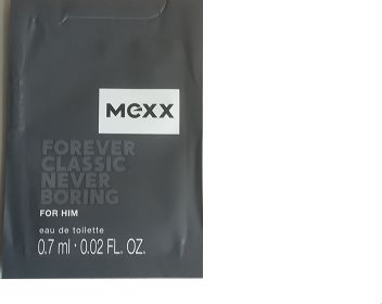 Mexx Forever Classic Never Boring for Him 0.7ml woda toaletowa [M] PRÓBKA