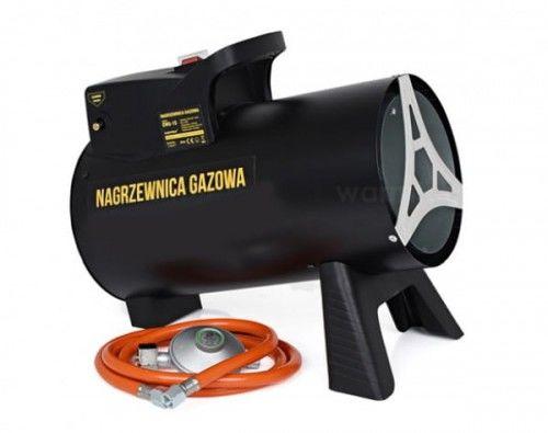 Nagrzewnica powietrza, gazowy, termostat, 15000W