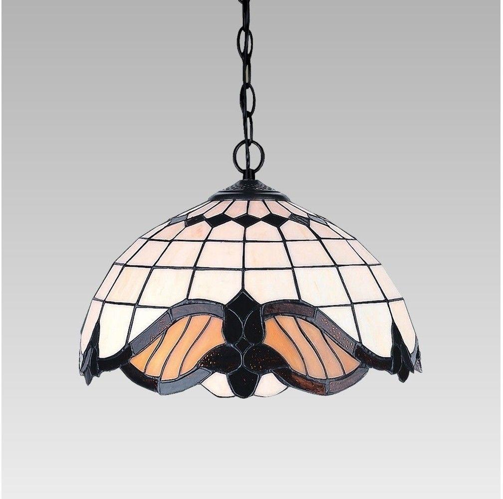 Lampa wisząca TIFFANY 2X60W E27 146 PREZENT