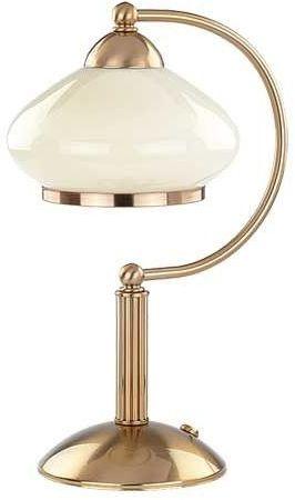 Lampa stołowa ASTORIA patyna/ecru śr. 22cm