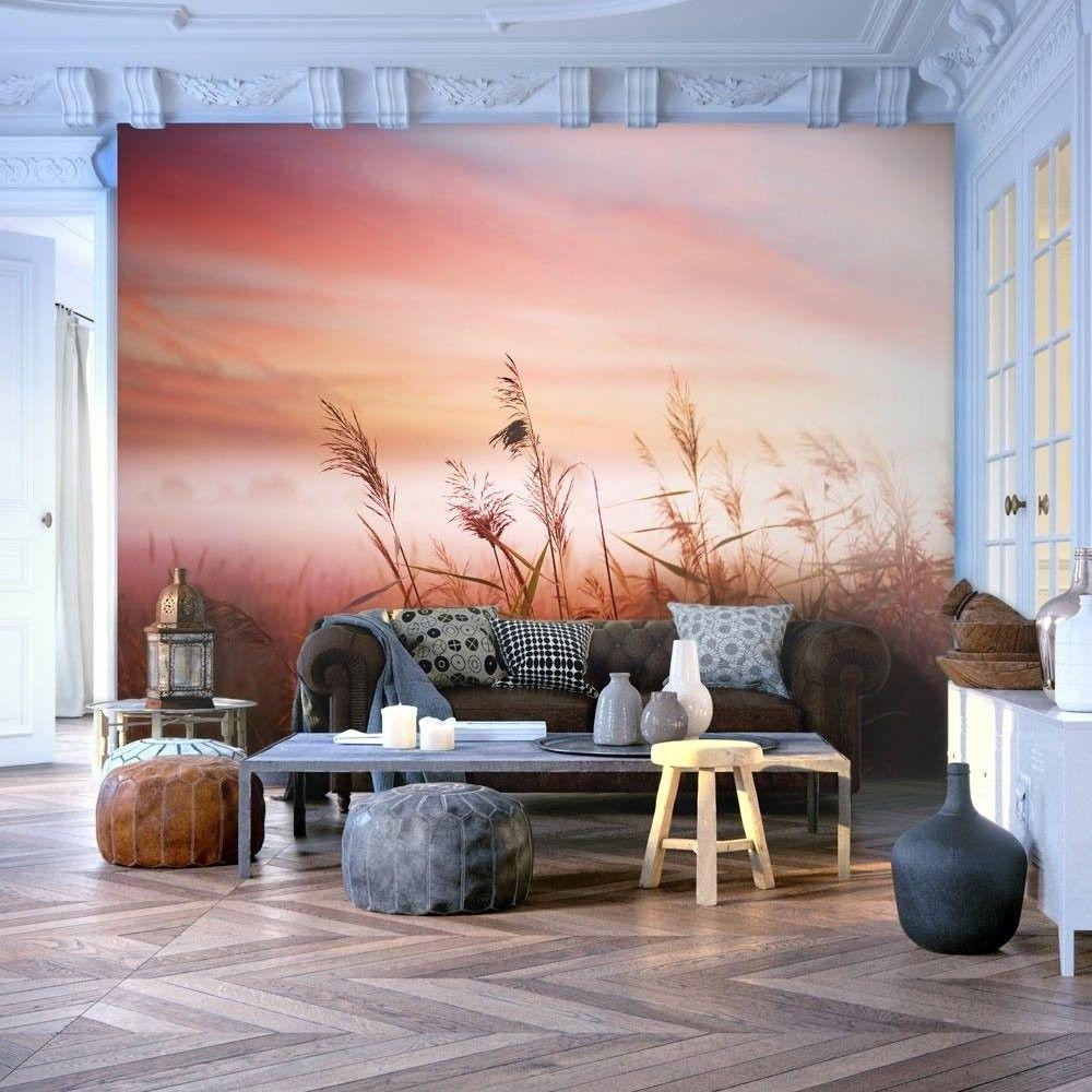 Fototapeta - łąka o świcie