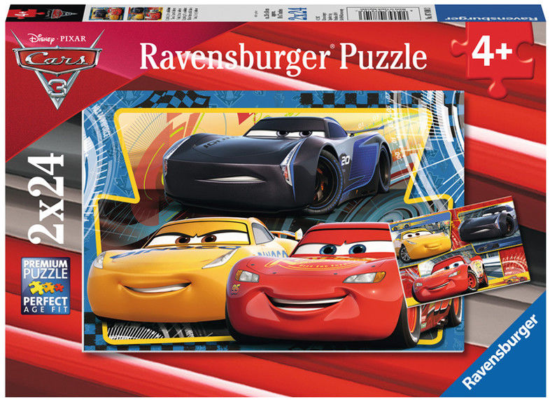 Ravensburger - Cars Auta 3 puzzle 2x24 elem. 078103