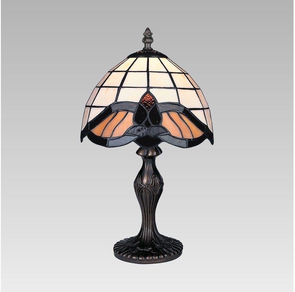 Lampa stołowa witrażowa TIFFANY 1X40W E14 147 PREZENT