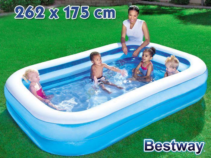 Bestway Basen dmuchany rodzinny 262x175cm