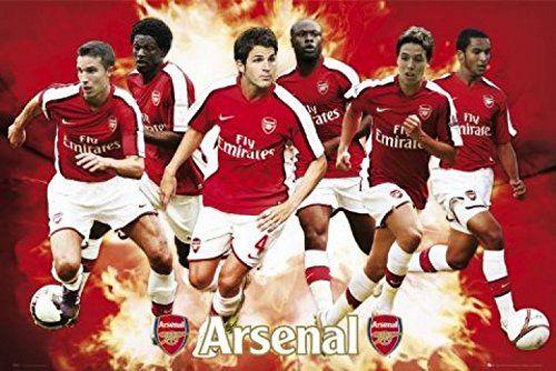 1art1 43165 piłka nożna - FC Arsenal, gracz 08/09 plakat 91 x 61 cm