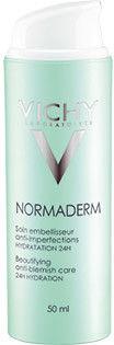 Vichy Normaderm Normaderm upiększający fluid nawilżający dla dorosłych ze sklonnością do niedoskonałości skóry 24 godz. 50 ml + do każdego zamówienia upominek.