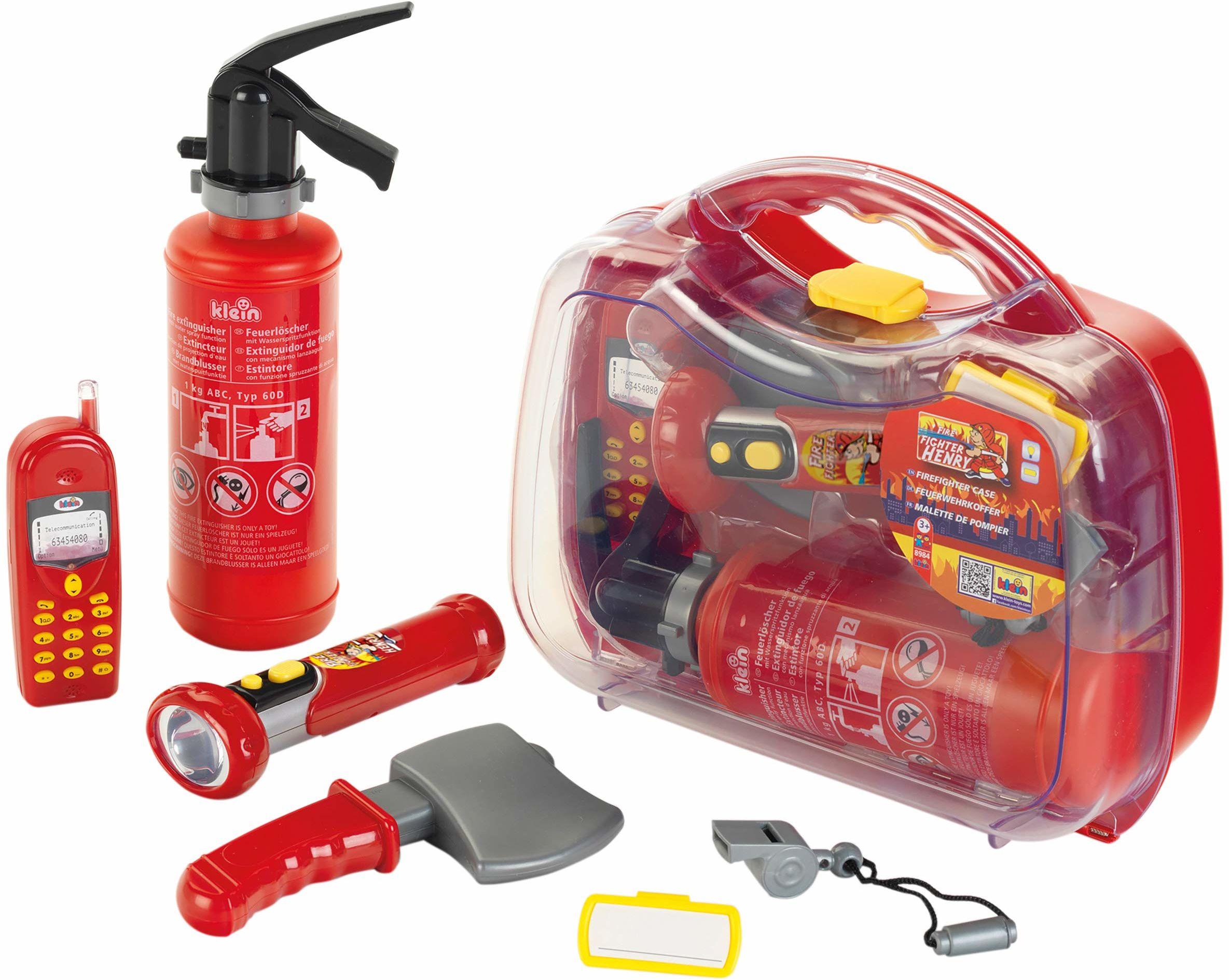 Theo Klein 8984 obudowa strażaka, zabawka, wielokolorowa