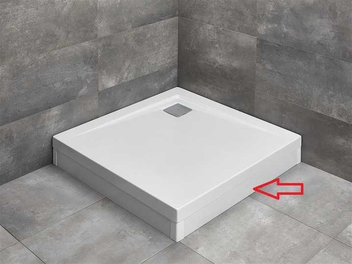 RADAWAY panel biały 90 cm do brodzika Argos C lub D z obudową 001-510084004
