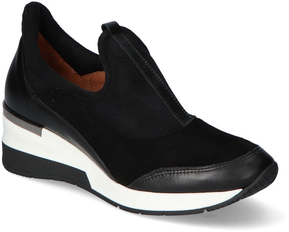 Sneakersy Veronna 1468 Czarne lico+zamsz
