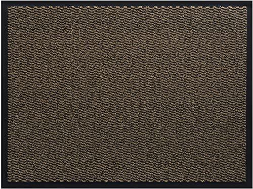 HMT wycieraczka z polipropylenu, brązowa, 80 x 120 cm