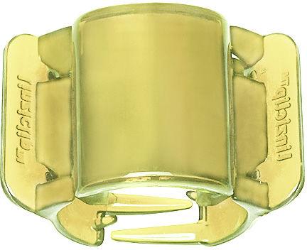 Linziclip Klamra do włosów Midi Translucent Yellow 1 szt.