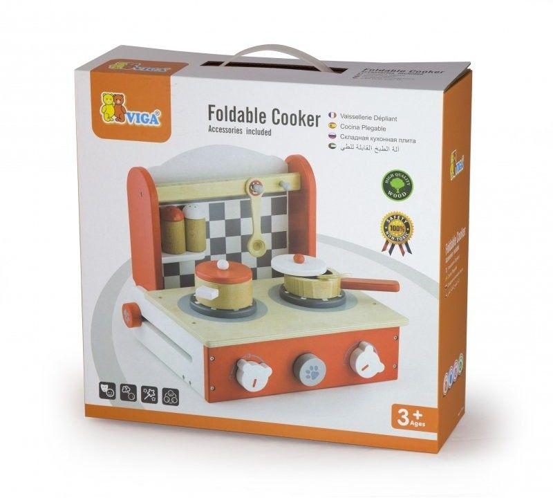 Viga 50232 Rozkładana kuchenka z akcesoriami