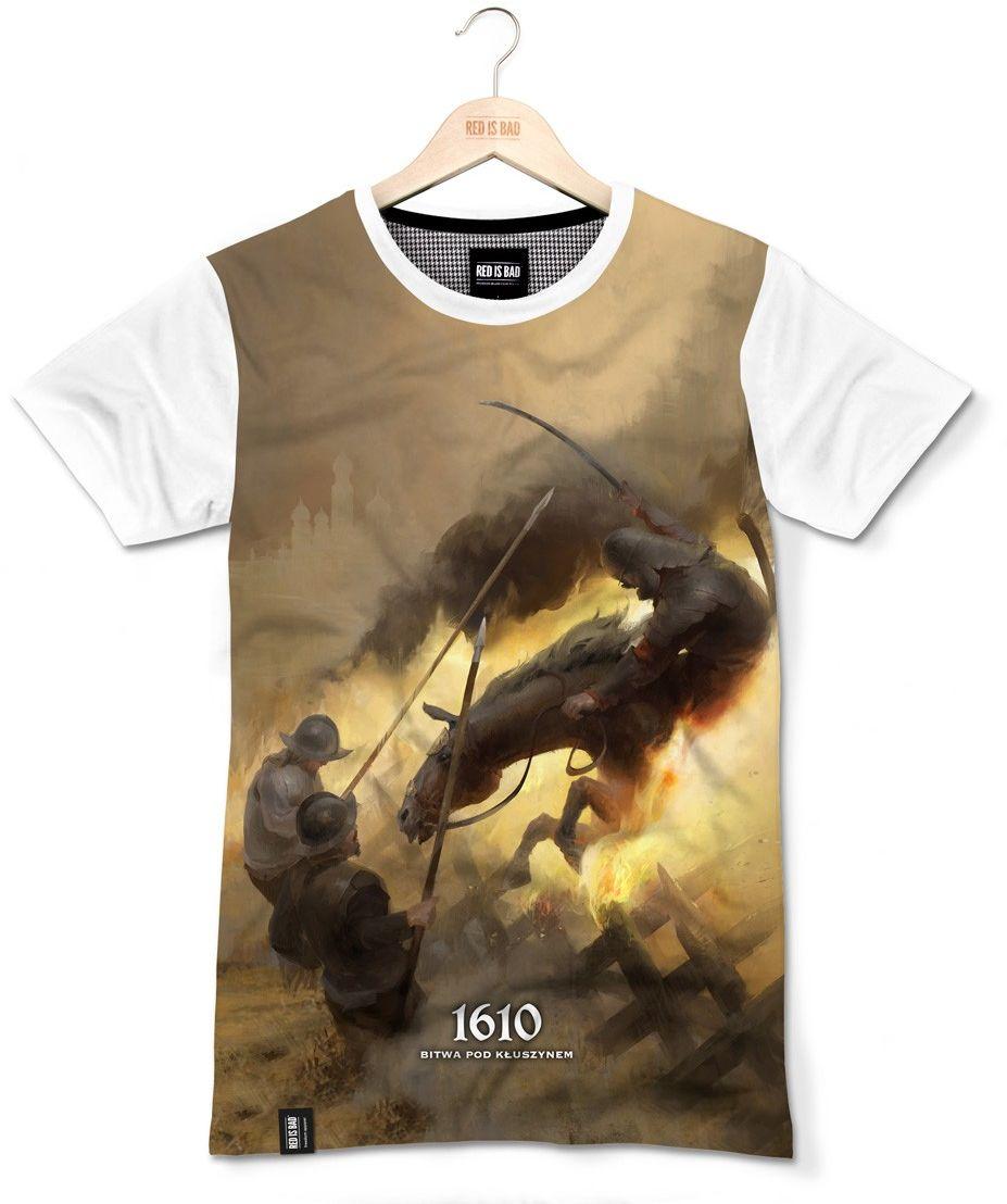 RED IS BAD koszulka Bitwa pod Kłuszynem 1610