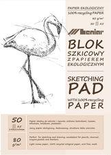 Leniar Blok szkicowy z eko papierem A5/50k