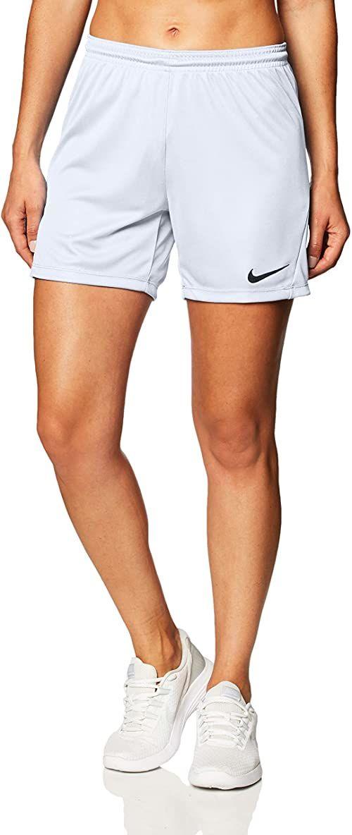 Nike damskie szorty Park Iii Nb biały biały/czarny S