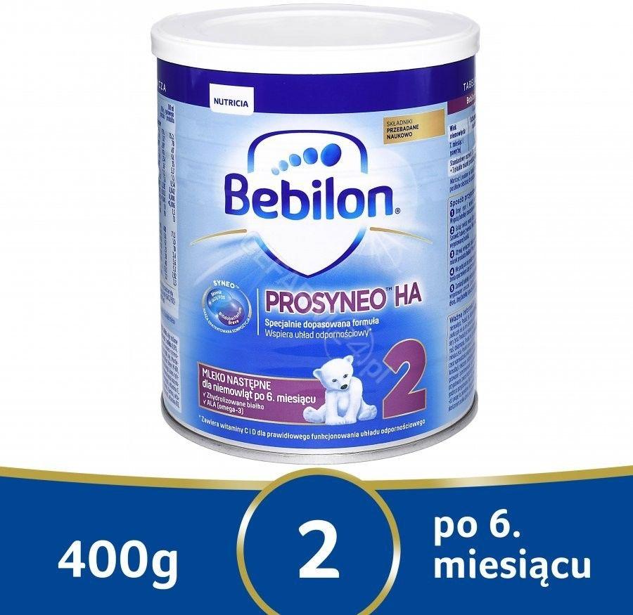 Bebilon Prosyneo HA 2 specjalistyczne mleko następne proszek 400 g