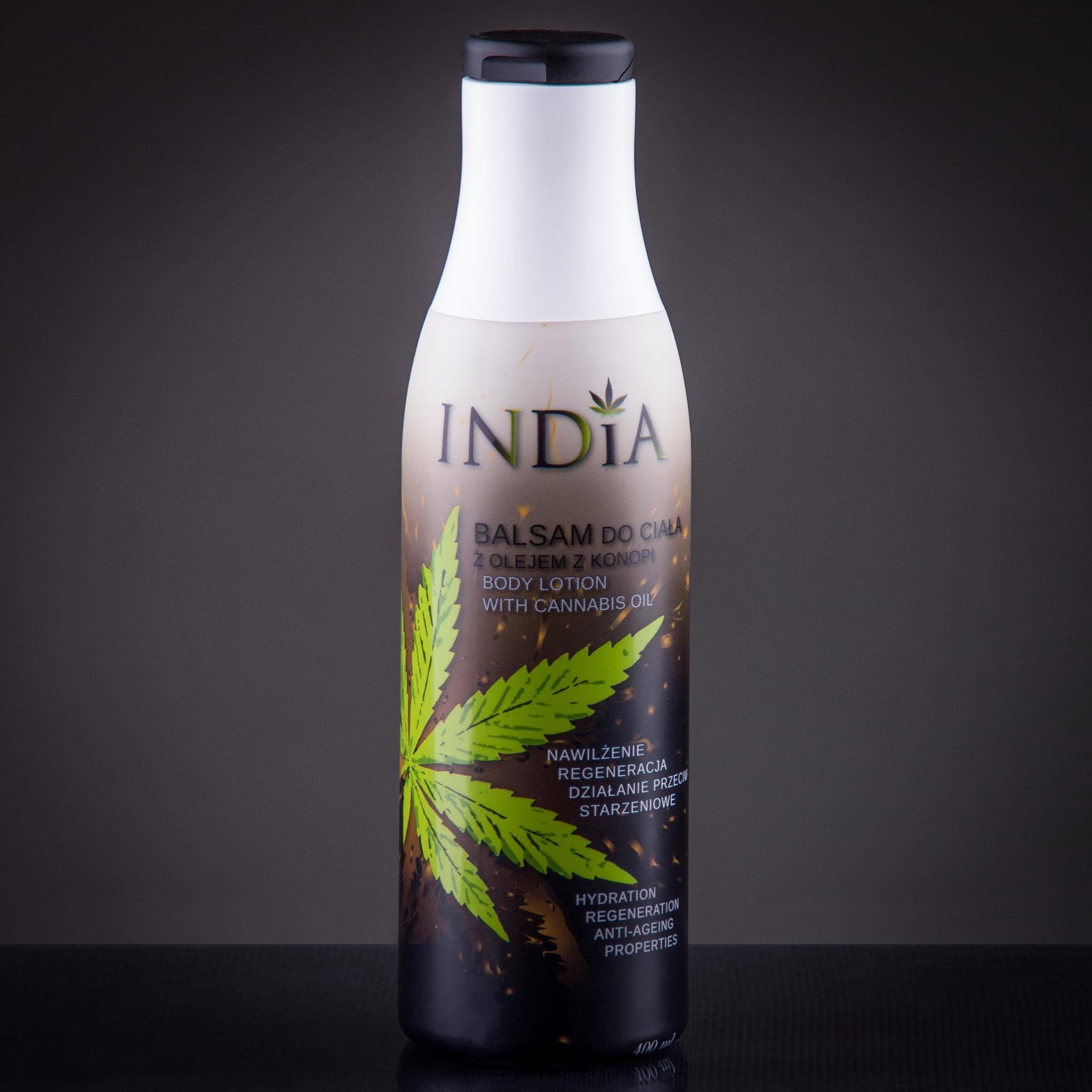 Balsam konopny do ciała INDIA 400ml