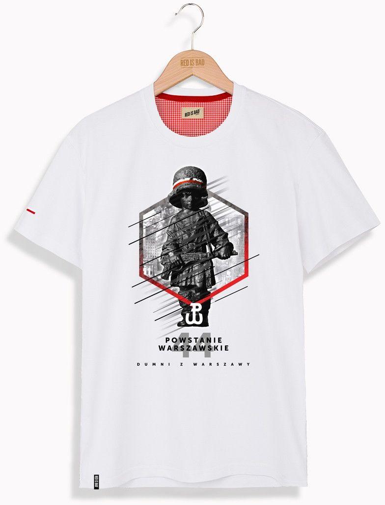 RED IS BAD koszulka Dumni z Warszawy