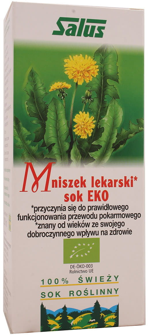 Mniszek lekarski sok EKO 200ml Salus