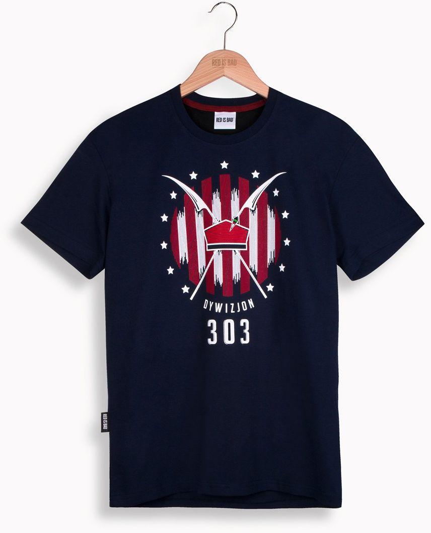 RED IS BAD koszulka Dywizjon 303 v.2