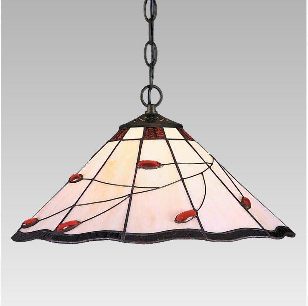 Lampa wisząca TIFFANY 2X60W E27 172 PREZENT