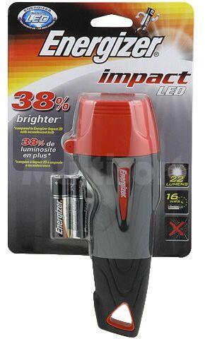 Latarka Energizer IMPACT RUBBER LED 2AA