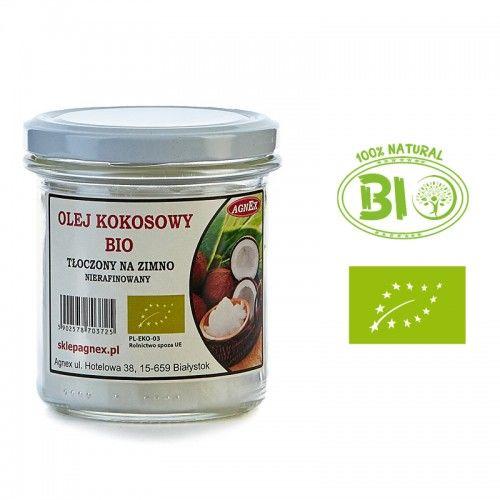 BIO Olej kokosowy 270 ml - TŁOCZONY NA ZIMNO