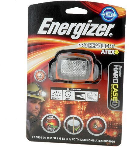 Latarka czołowa Energizer PRO HEADLIGHT ATEX 3AAA 3LED