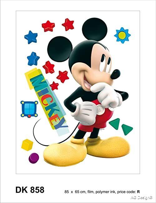 Disney Junior DK 858, folia, wielokolorowa, 65 x 85 cm