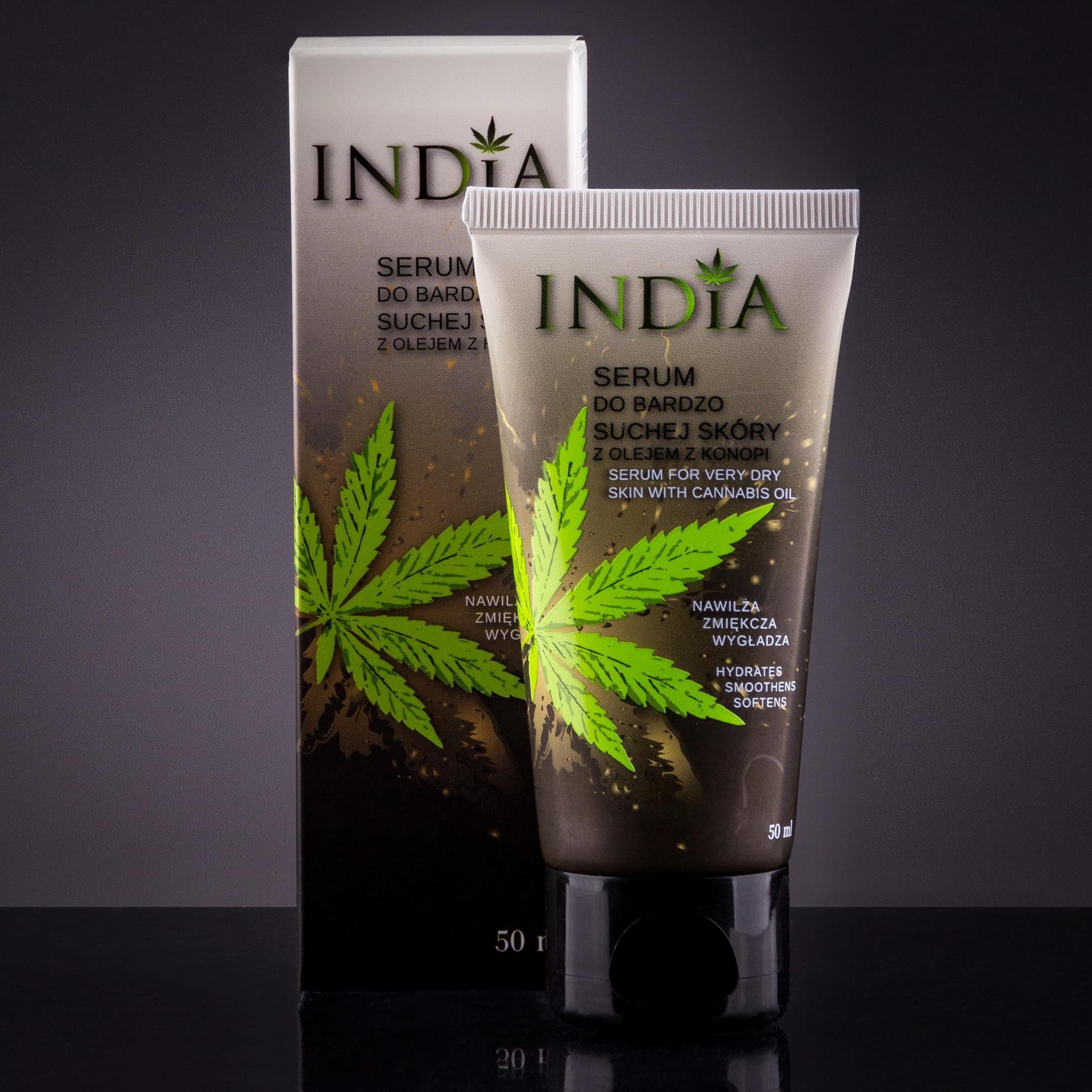 Serum z konopi do bardzo suchej skóry INDIA 50ml