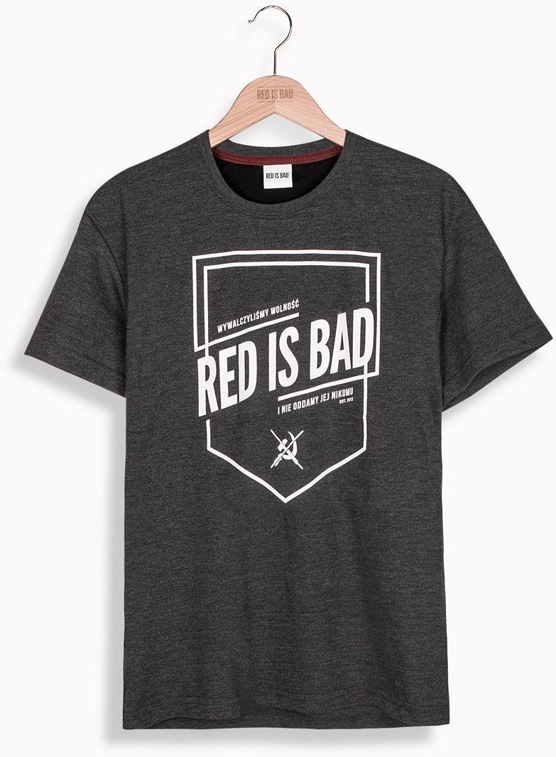 RED IS BAD koszulka Herb RIB v.2