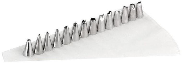 Rękaw worek cukierniczy z 14 tylkami i przejściówką