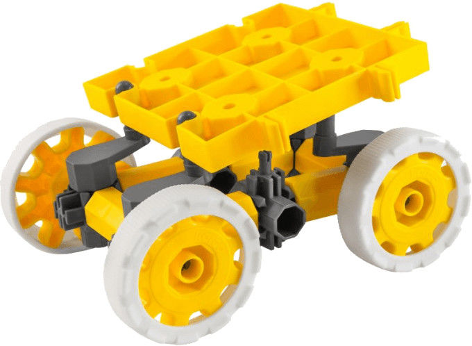 Klocki konstrukcyjne Korbo Hummer Yellow 25 el.