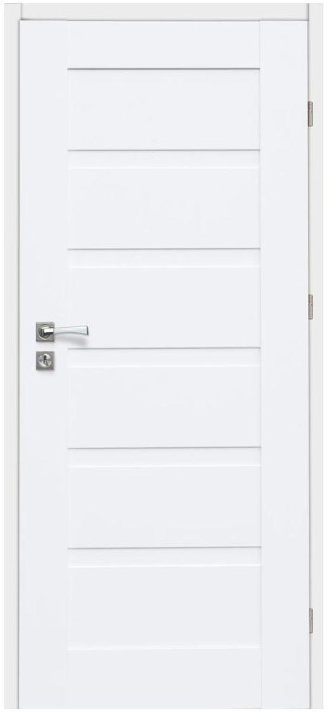 Skrzydło drzwiowe ETNA Białe 80 Prawe ARTENS