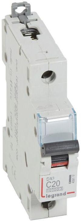 Wyłącznik nadprądowy 1P C 20A 10kA S311 DX3 409115