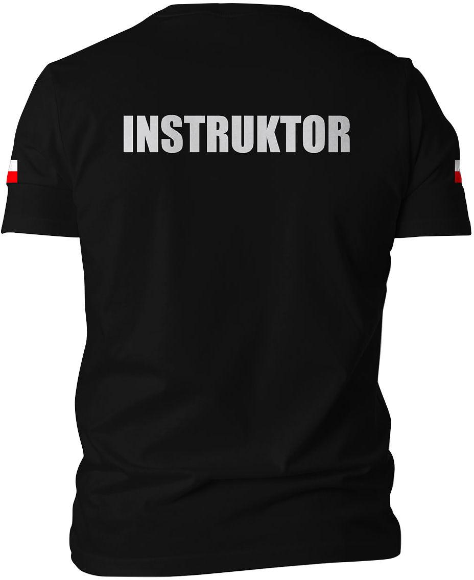 Koszulka T-Shirt TigerWood Instruktor - czarna