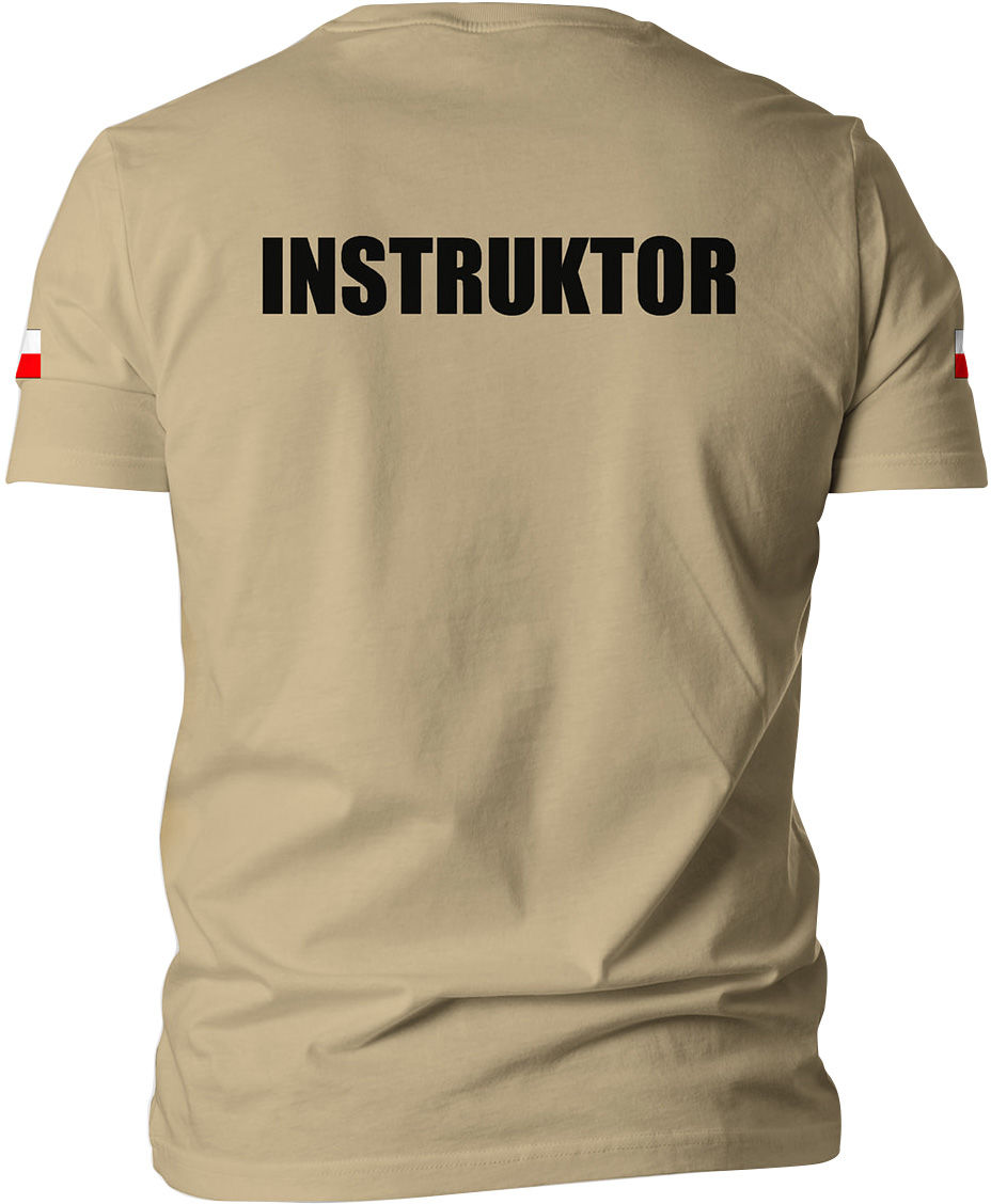 Koszulka T-Shirt TigerWood Instruktor - pustynna