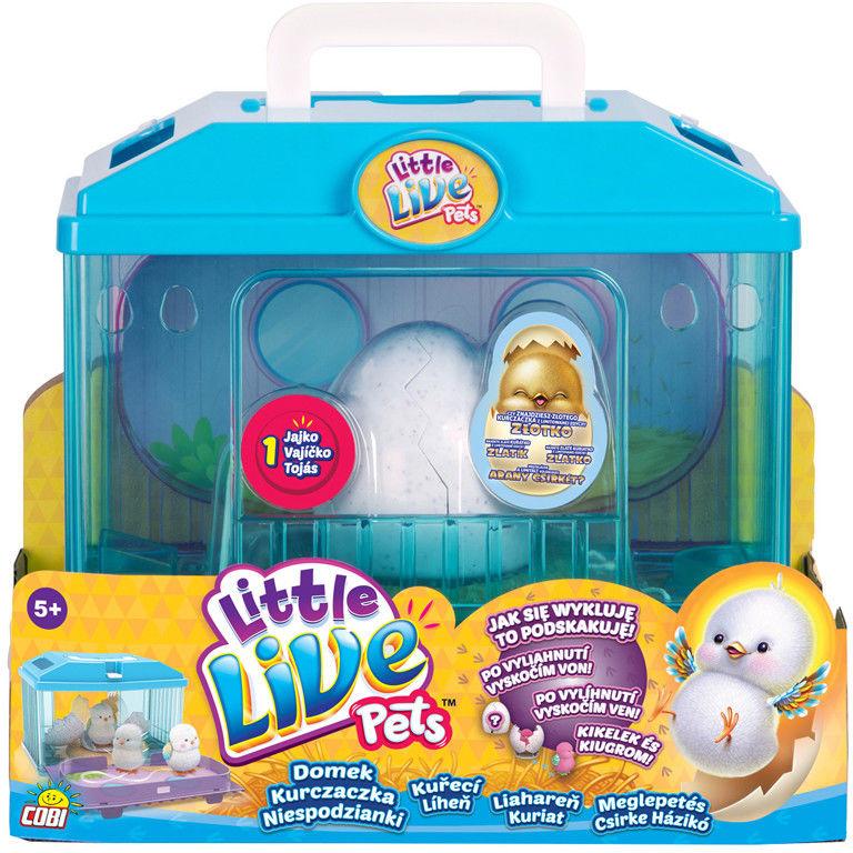Little Live Pets - Kurczaczek z domkiem 28325