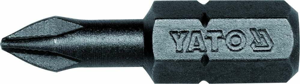 Końcówki wkrętakowe 1/4''x25 mm, ph1, 50 szt Yato YT-7807 - ZYSKAJ RABAT 30 ZŁ