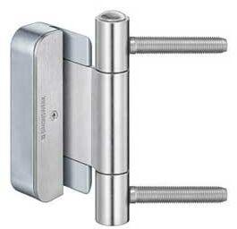 Zawias do drzwi BAKA protect 2010 2D FD MSTS ocynk srebrny