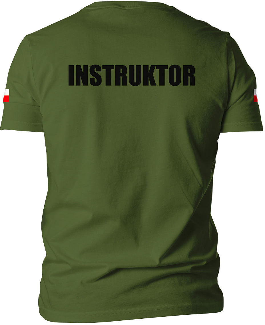 Koszulka T-Shirt TigerWood Instruktor - olive
