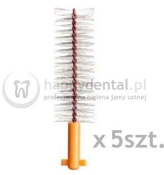 CURAPROX CPS 507 Soft&Implant 5szt. (pomarańczowe) - końcówki do szczoteczek międzyzębowych