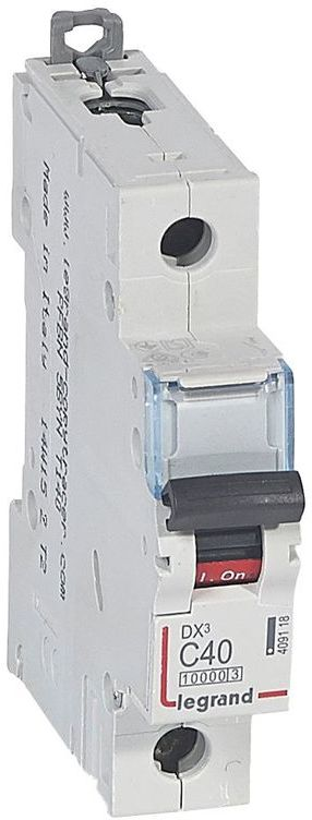 Wyłącznik nadprądowy 1P C 40A 10kA S311 DX3 409118